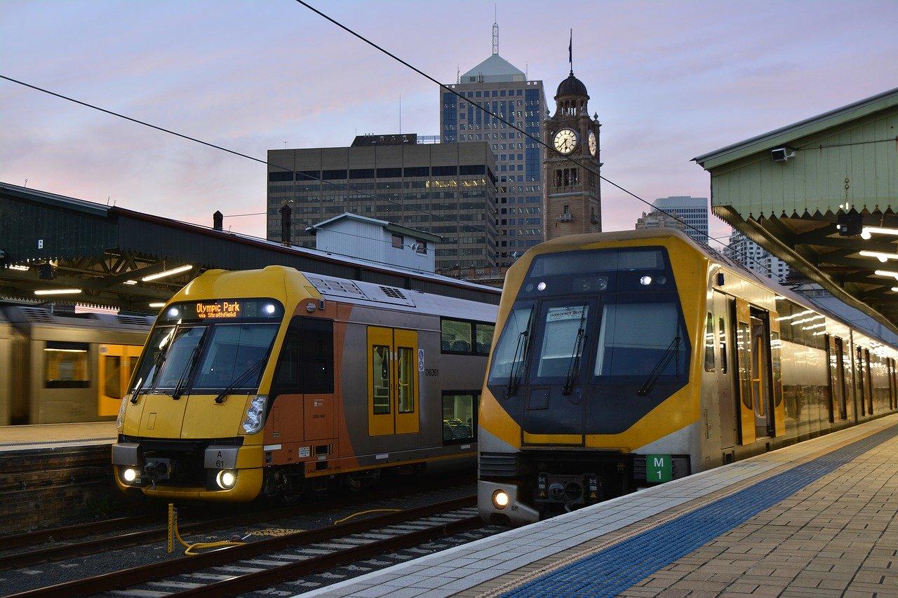 Train journeys in Australia
