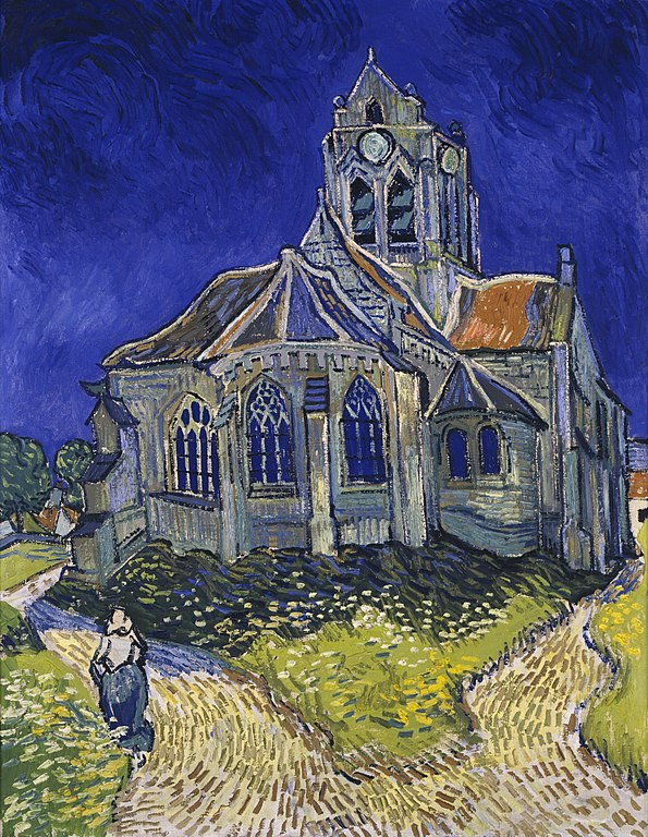Vincent van Gogh - The Church in Auvers-sur-Oise - all you need to know before visiting the Orsay Museum, Paris