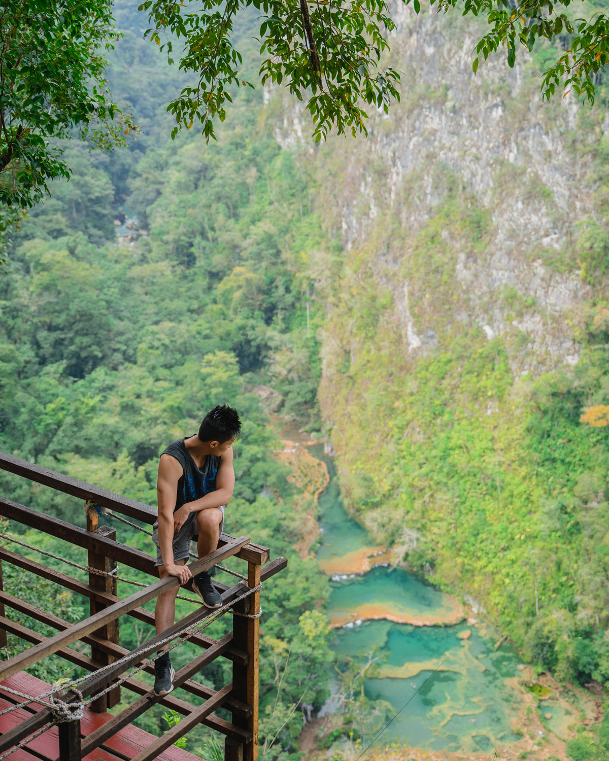 Semuc Champey is a natural paradise in Guatemala. Here are the top places to visit in Guatemala and the best things to do in Guatemala for all preferences!