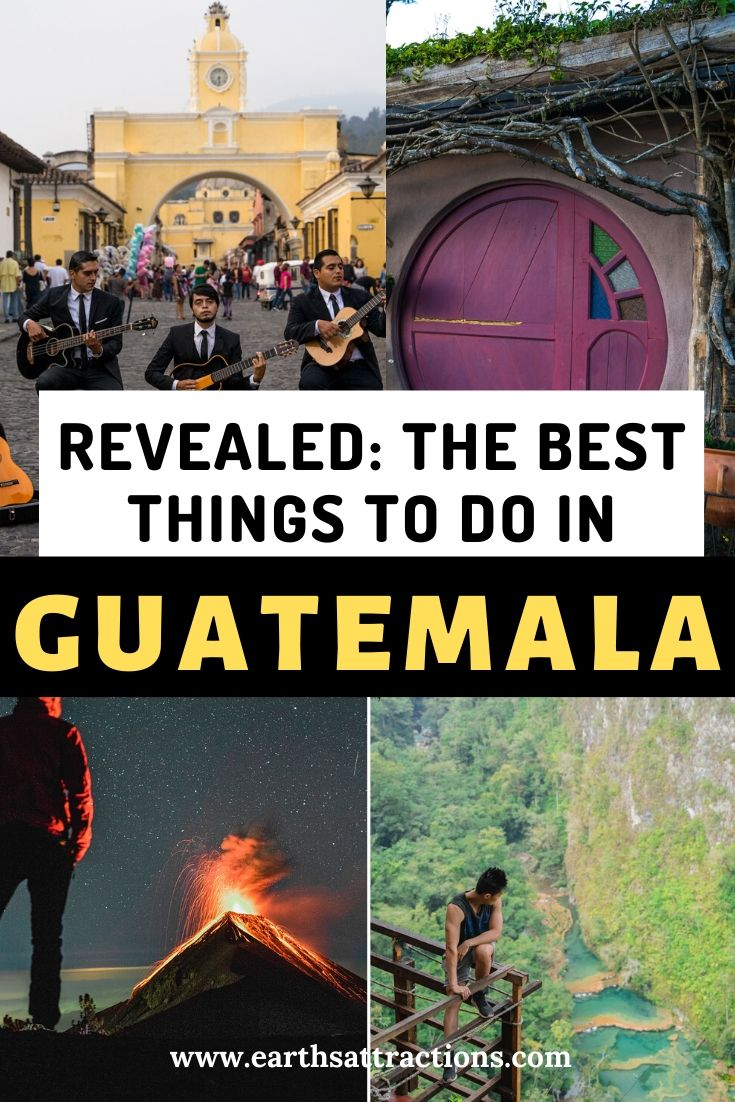 The best things to do in Guatemala and 13 reasons to visit Guatemala. Discover the top Guatemala experiences from this complete Guatemala travel blog. Create your Guatemala bucketlist with this guide to Guatemala! #guatemala #centralamerica #guatemalathingstodo #thingstodo #travel #earthsattractions