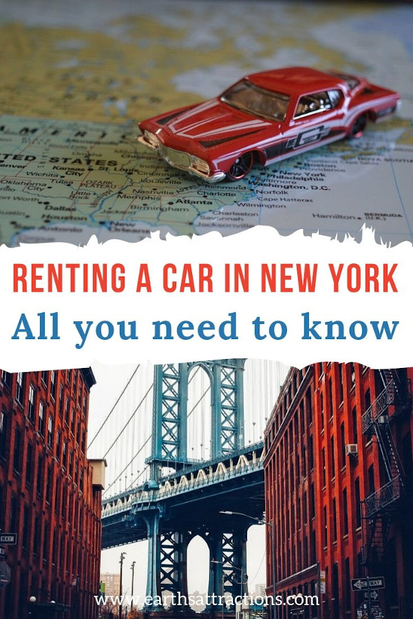 Car rental in NYC, USA: Everything you need to know ab out renting a car in New York, United States. #carrental #new york #nyc #usa #usatravel #travel #earthsattractions
