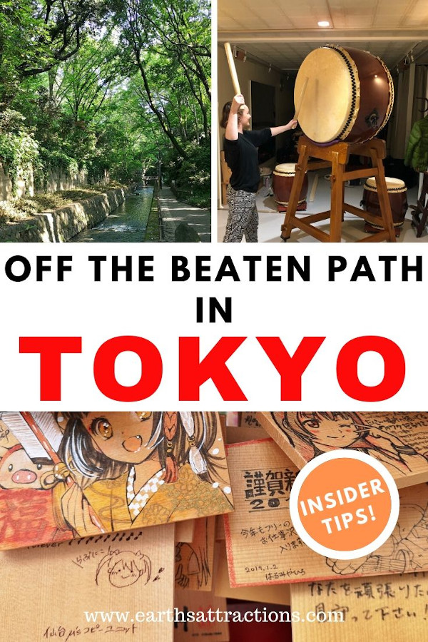 Off the beaten path things to do in Tokyo, Japan you won't want to miss. Discover the top offbeat Tokyo experiences to add to your Tokyo bucketlist! Read these Tokyo insider tips and great Tokyo activities recommendations now! #japan #tokyo #tokyothingstodo #earthsattractions #offthebeatenpath #asia #travel #traveldestinations #earthsattractions