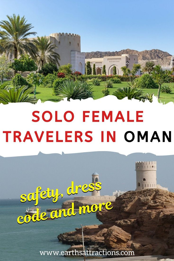 Solo female travelers in Oman: things to know. Is Oman safe to visit? How to dress in Oman - and more Oman tips. #oman #travel #asia #omantips