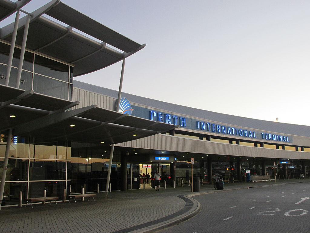 Perth Airport - image via Wikipedia