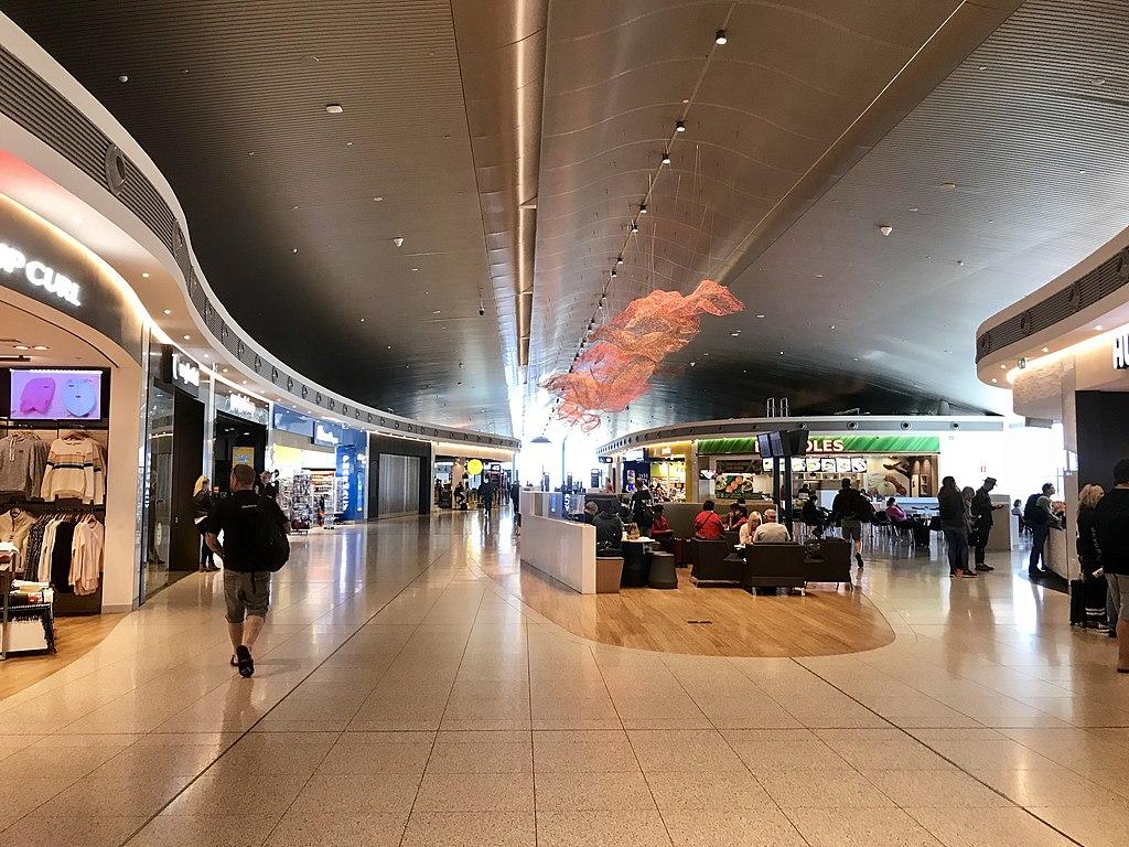 Perth Airport Terminal 1  -  image via Wikipedia