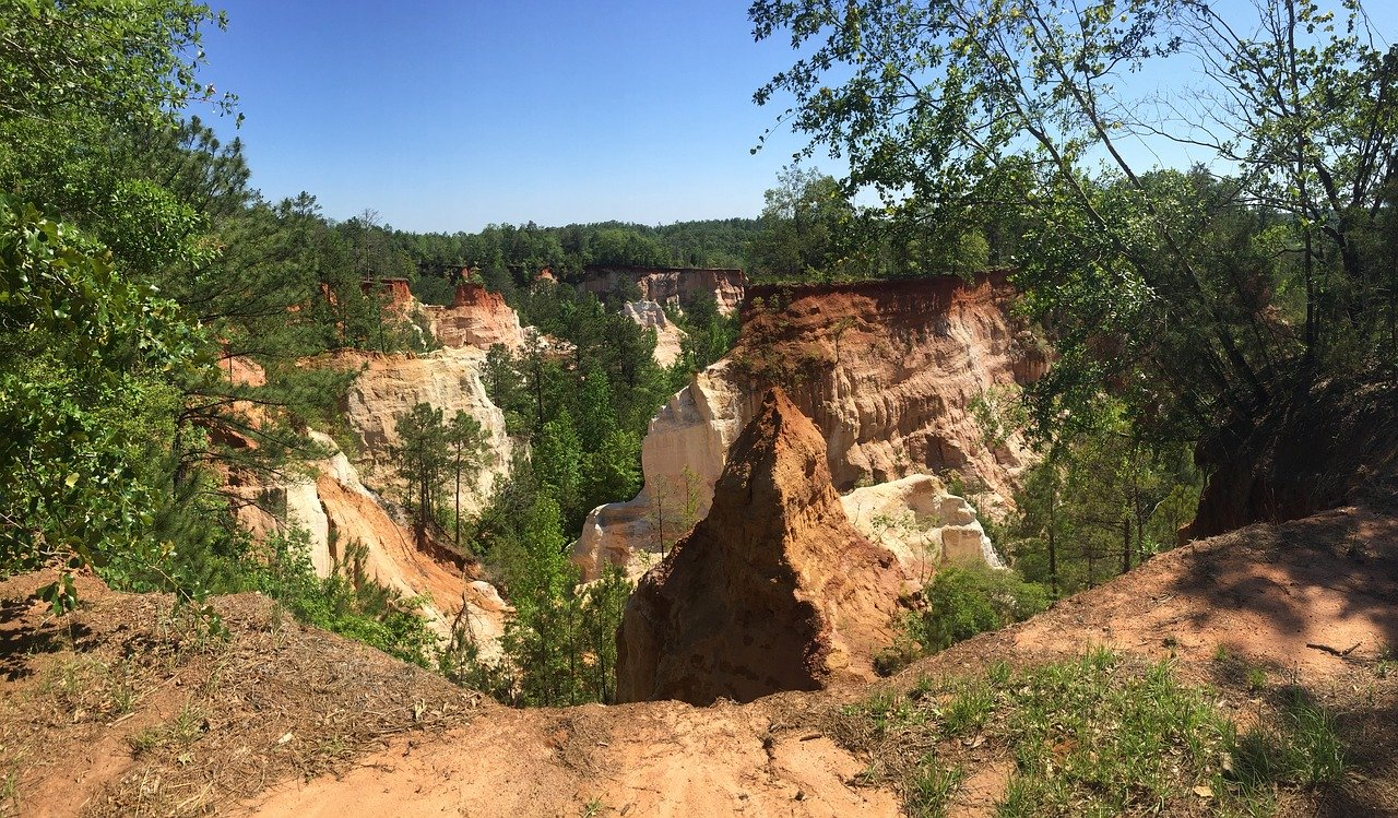 Providence Canyon - car rental in the USA tips