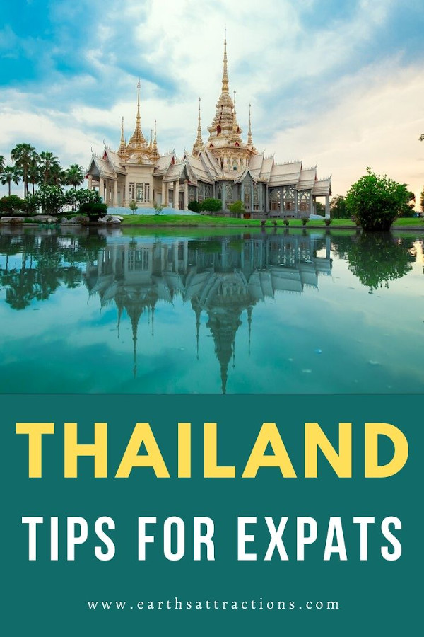 Five Tips for Expats Moving to Thailand. All you need to know before moving to Thailand. #thailand #asia #traveltips #thailandtips