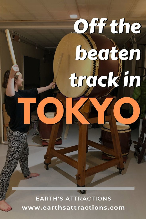 Off the beaten track in Tokyo: unique experiences in Tokyo, Japan from someone who lived there! Discover the best offbeat attractions in Tokyo and many free things to do in Tokyo from this article. Read it now! #japan #tokyo #tokyothingstodo #earthsattractions #offthebeatenpath #asia #travel #traveldestinations #earthsattractions