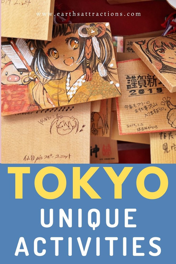 Tokyo - unique activities! Discover the best off the beaten path places to visit in Tokyo and many free things to do in Tokyo from this article. The best off the beaten path things to do in Tokyo are included for you! Read the article now! #japan #tokyo #tokyothingstodo #earthsattractions #offthebeatenpath #asia #travel #traveldestinations #earthsattractions
