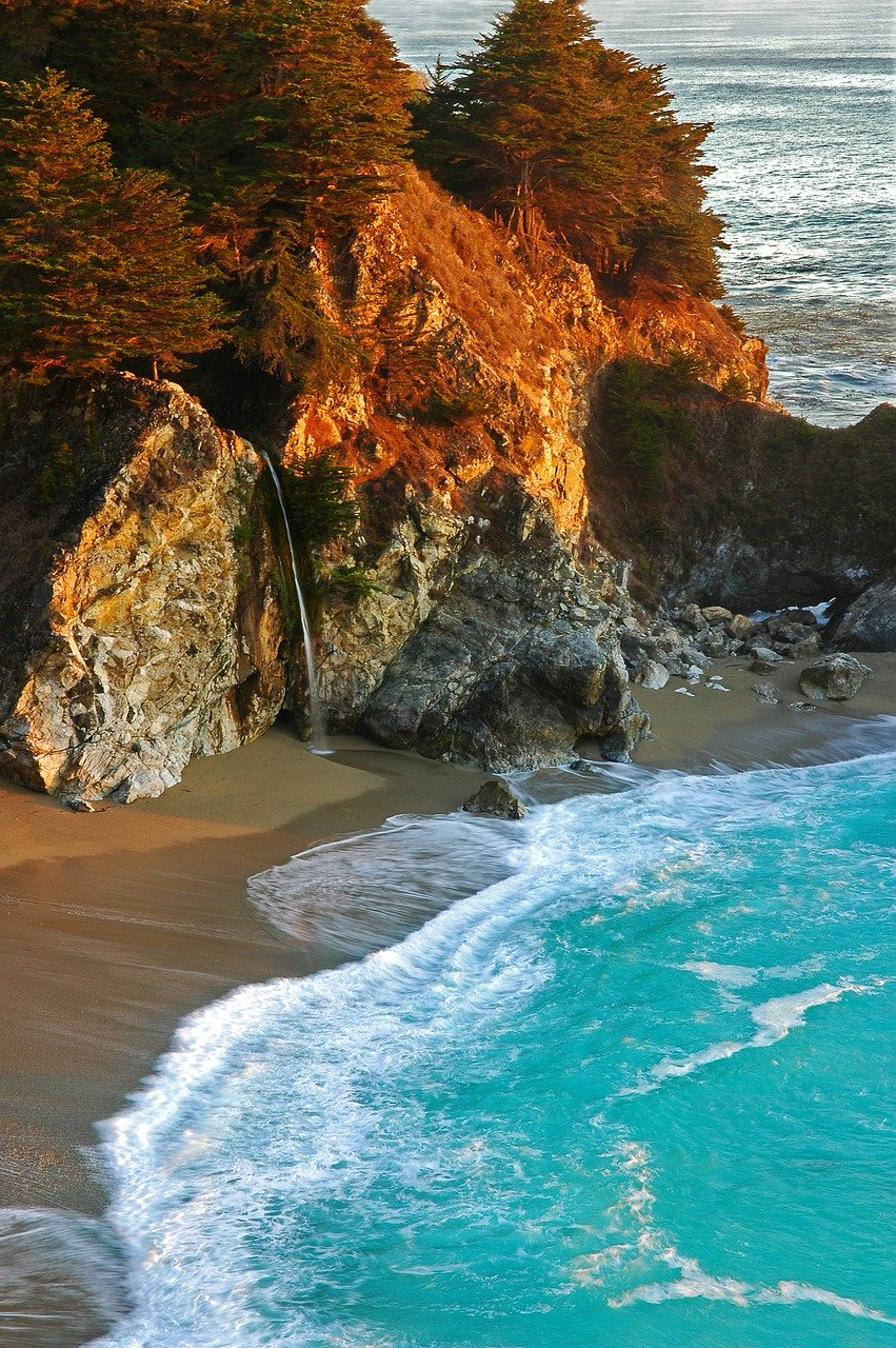 Big Sur, California is one of the best places to stop on your west coast road trip