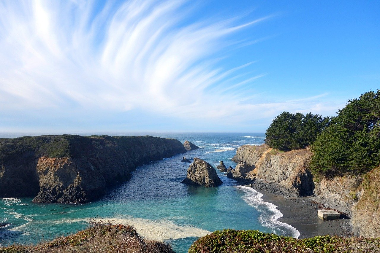 Mendocino, California is one of the best places to add to your west coast route