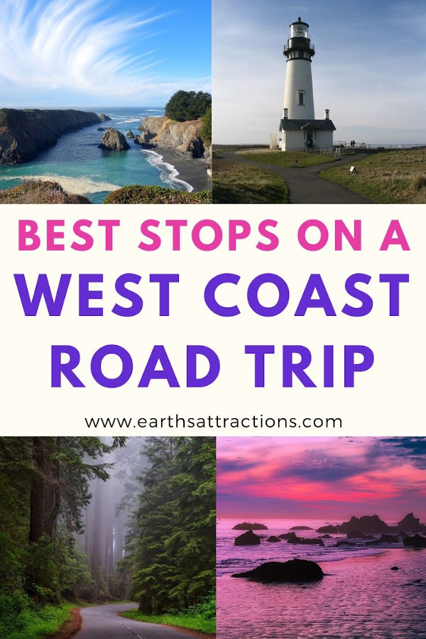 Where to stop on your West Coast Road trip. Discover the best places on your west coast trip. These are the top stops you should include in your west coast route. #usa #usatravel #westcoast #california #travel #roadtrip