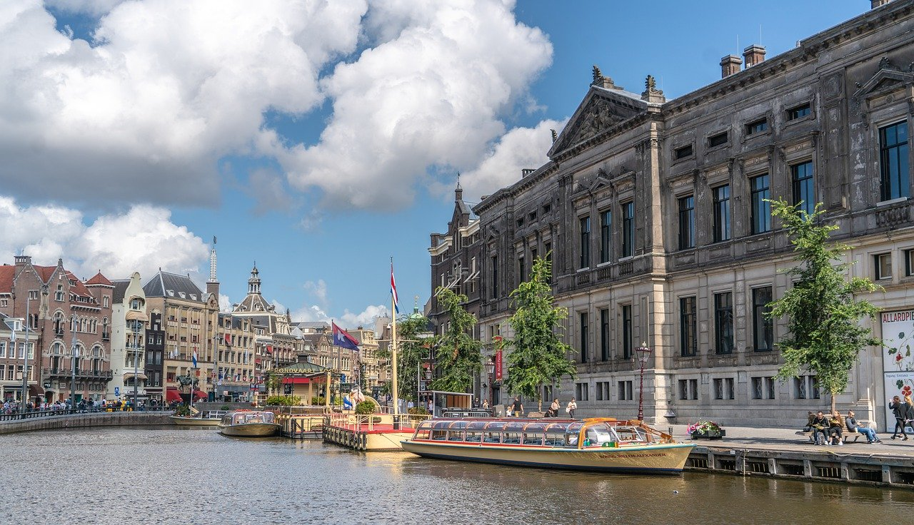 Amsterdam is a perfect European destination for a summer holiday
