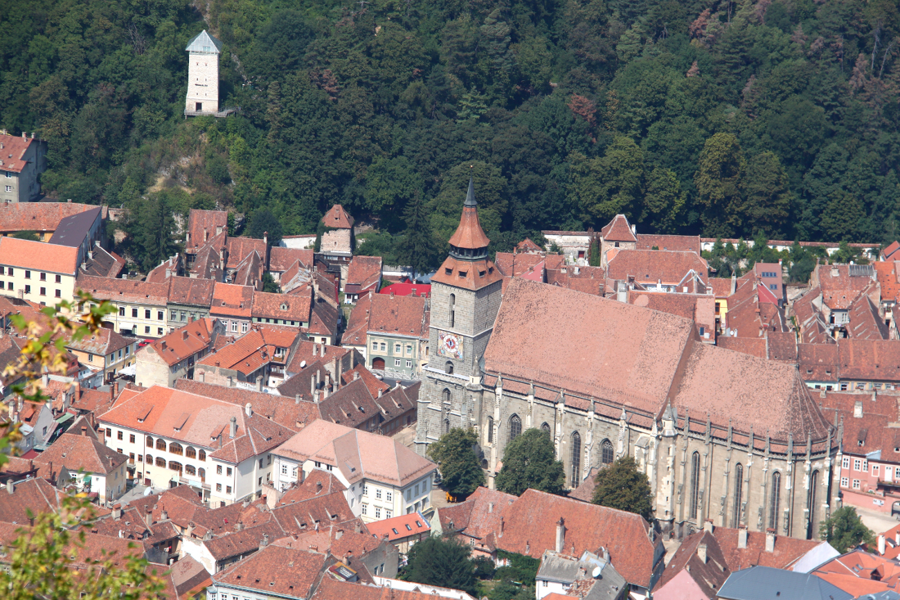 Brasov, Romania is one of the cool places to visit in Europe in summer