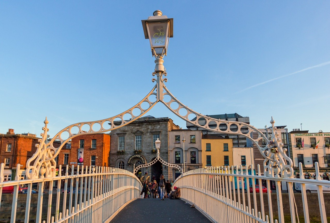 Dublin is one of the places to visit in Europe in the summer