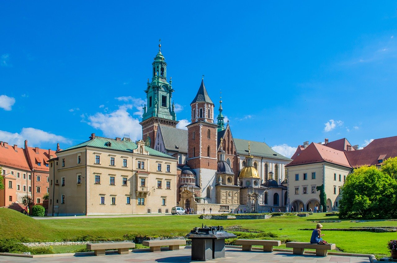 Krakow is a great place to spend your summer holiday in Europe