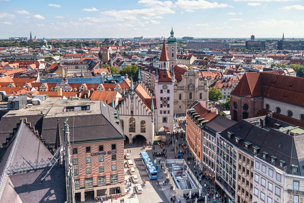 Munich is one of the best places to spend your summer vacation in Europe
