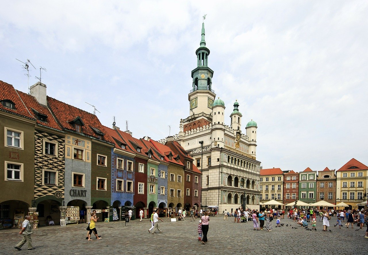 Poznan is perfect for a great summer holiday in Europe