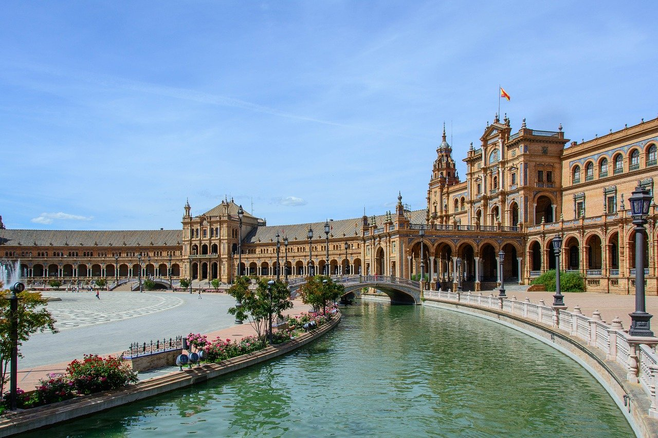 Seville, Spain is one of the best places to spend your summer holiday in Europe