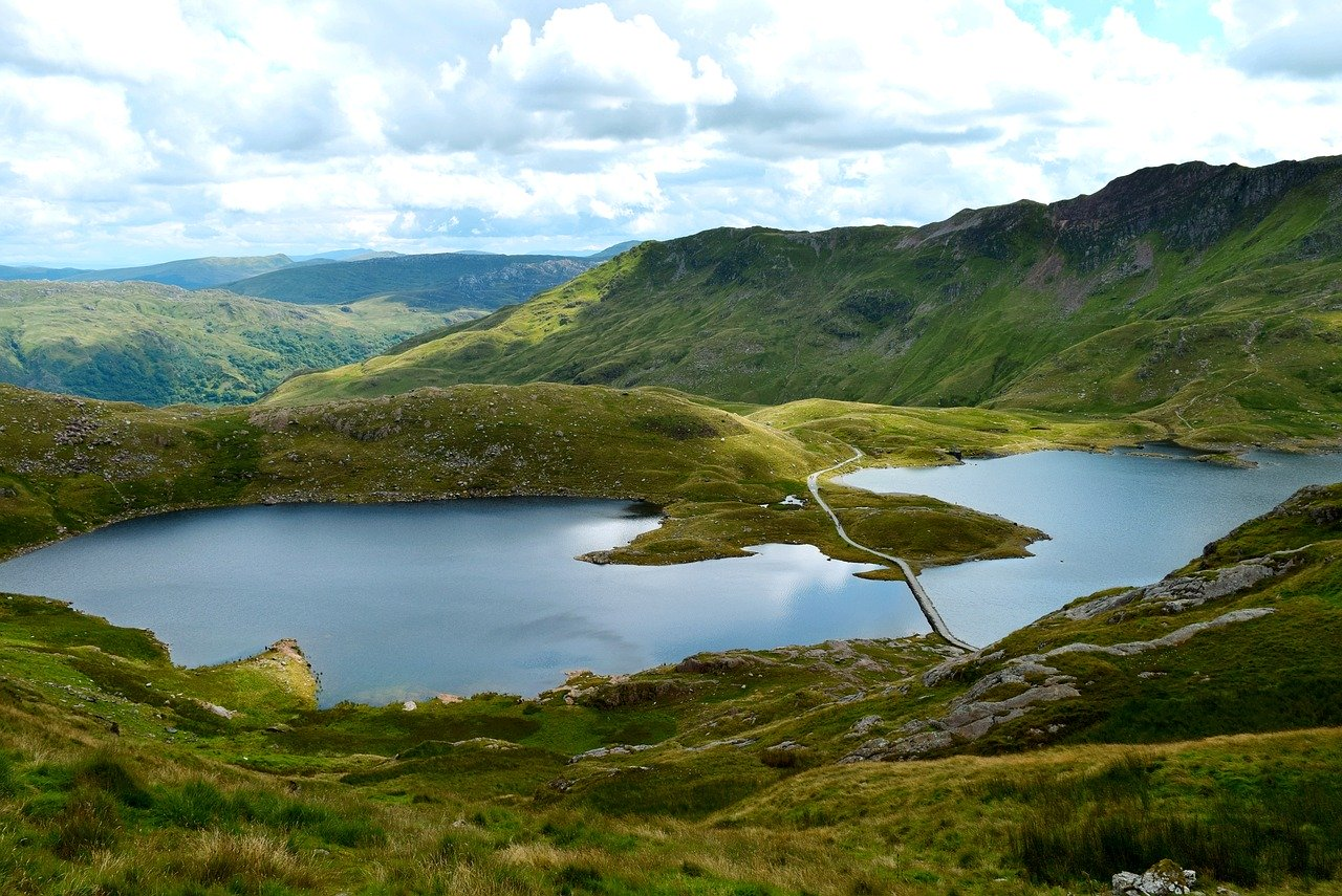 Snowdonia is a perfect outdoor summer holiday destinations in Europe