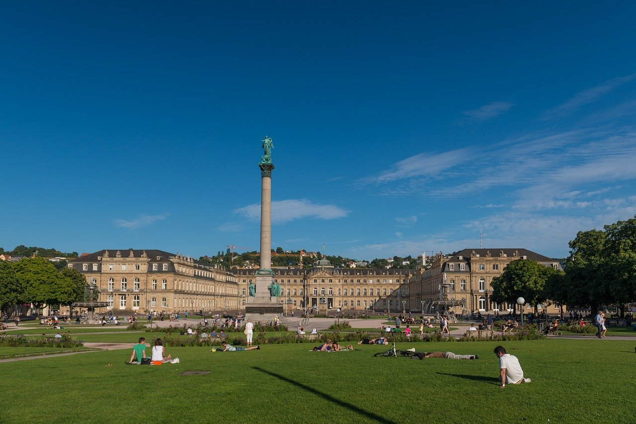 Stuttgart, Germany is an interesting European summer holiday idea