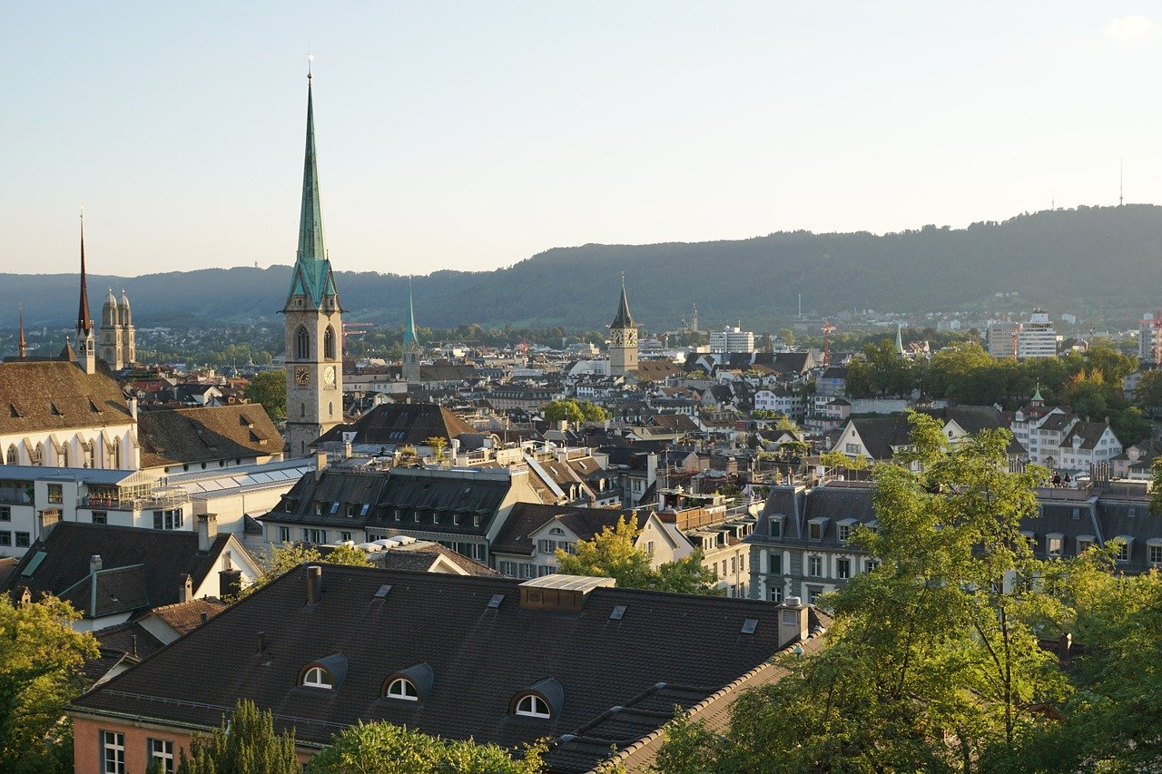 Zurich is one of the best places to spend your summer vacation in Europe