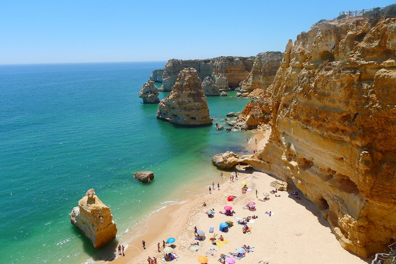 The Algarve region in Portugal is among the top trips from Birmingham