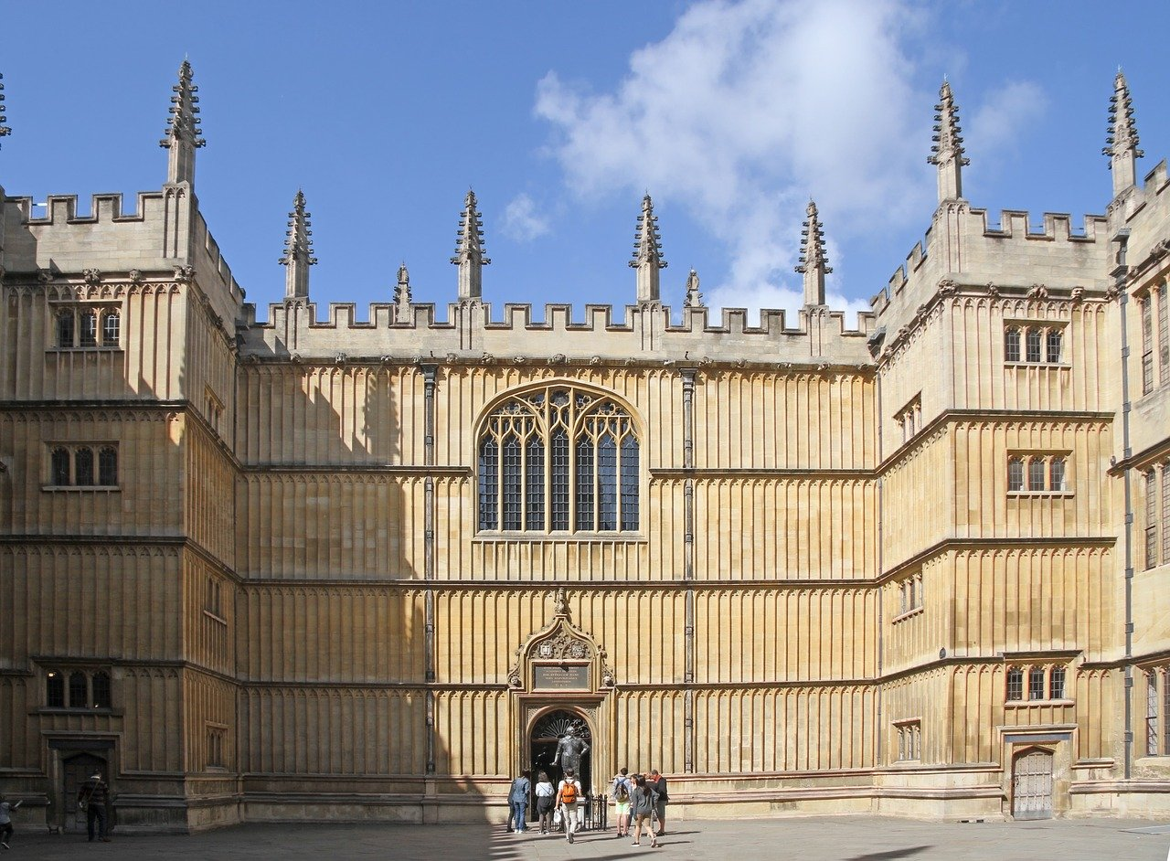 The Bodleian Library is one of the best things to see in Oxford, UK.