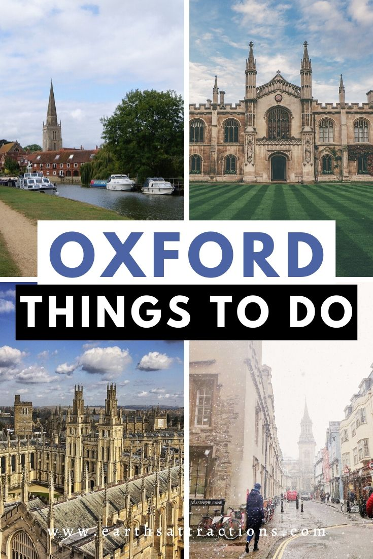 Things to do in Oxford, UK. Discover the top Oxford attractions as well as off the beaten path things to do in Oxford from this comprehensive Oxford blog. #oxford #england #oxforduk #oxfordthingstodo #thingstodo #europetravel #earthsattractions #travelguides #oxfordguide #oxfordattractions #harrypotter