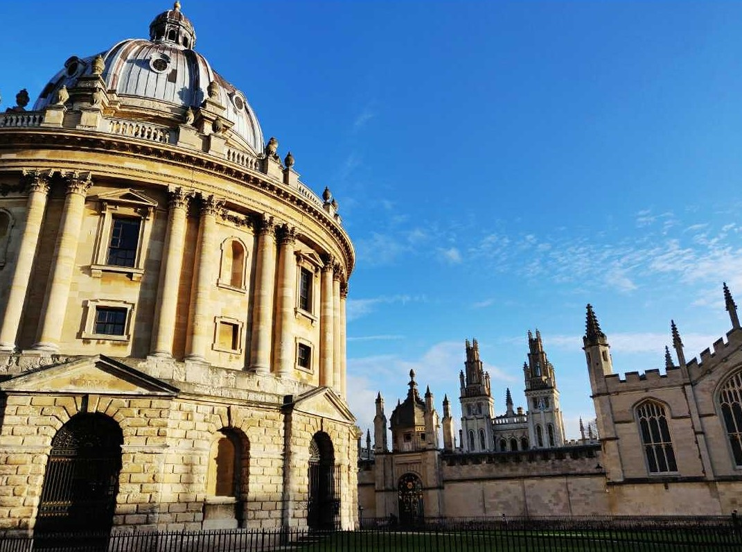 The Radcliffe Camera is one of the best places to visit in Oxford. Here are more things to see in Oxford, England