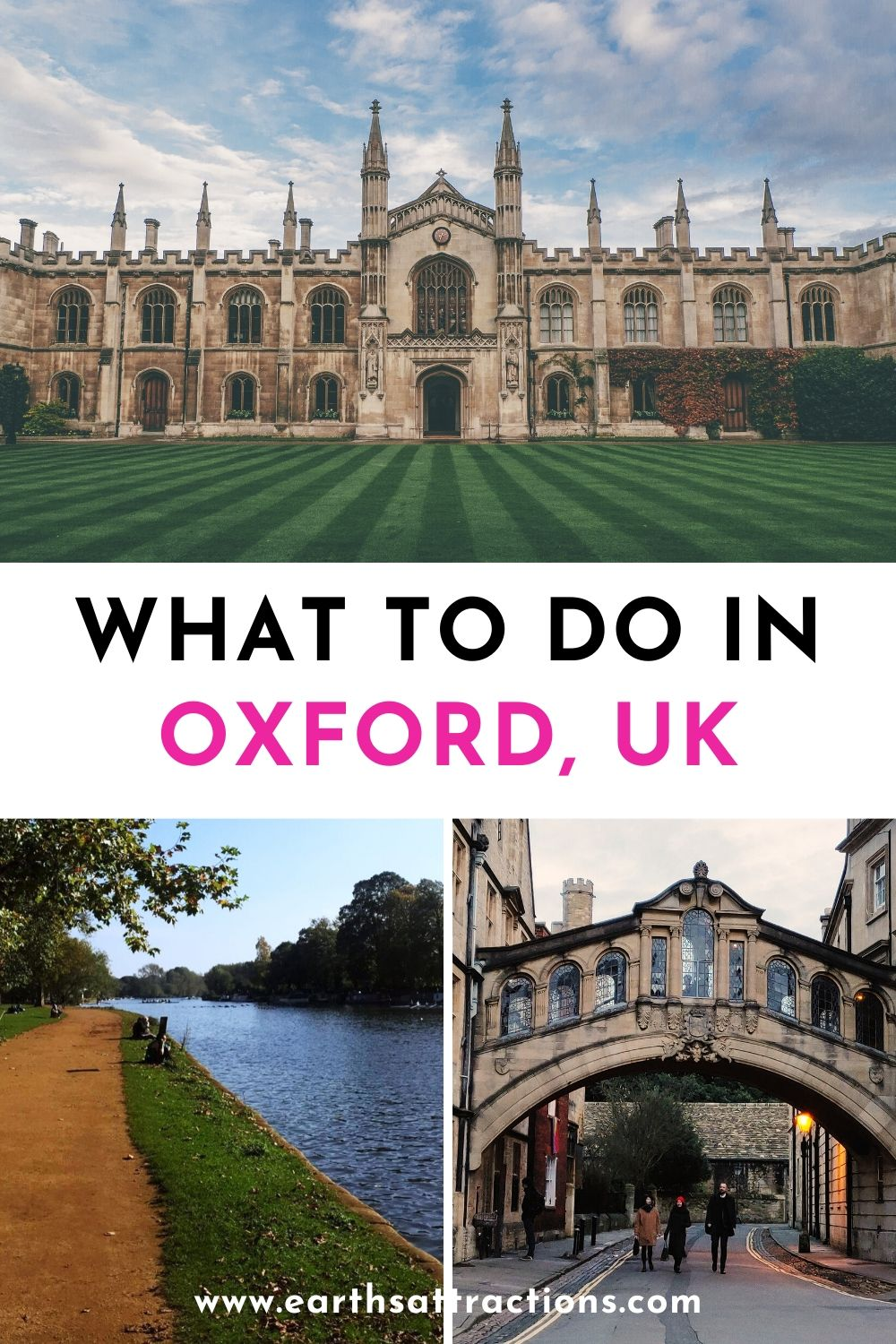 What to do in Oxford, UK. A great day trip from London, Oxford has numerous attractions. Discover both famous things to do in Oxford as well as offbeat places to visit in Oxford, UK from this article. Oxford tips, great Oxford restaurants, and Oxford accommodation options are also included. #oxford #england #oxforduk #oxfordthingstodo #thingstodo #europetravel #earthsattractions #travelguides #oxfordguide #oxfordattractions #harrypotter