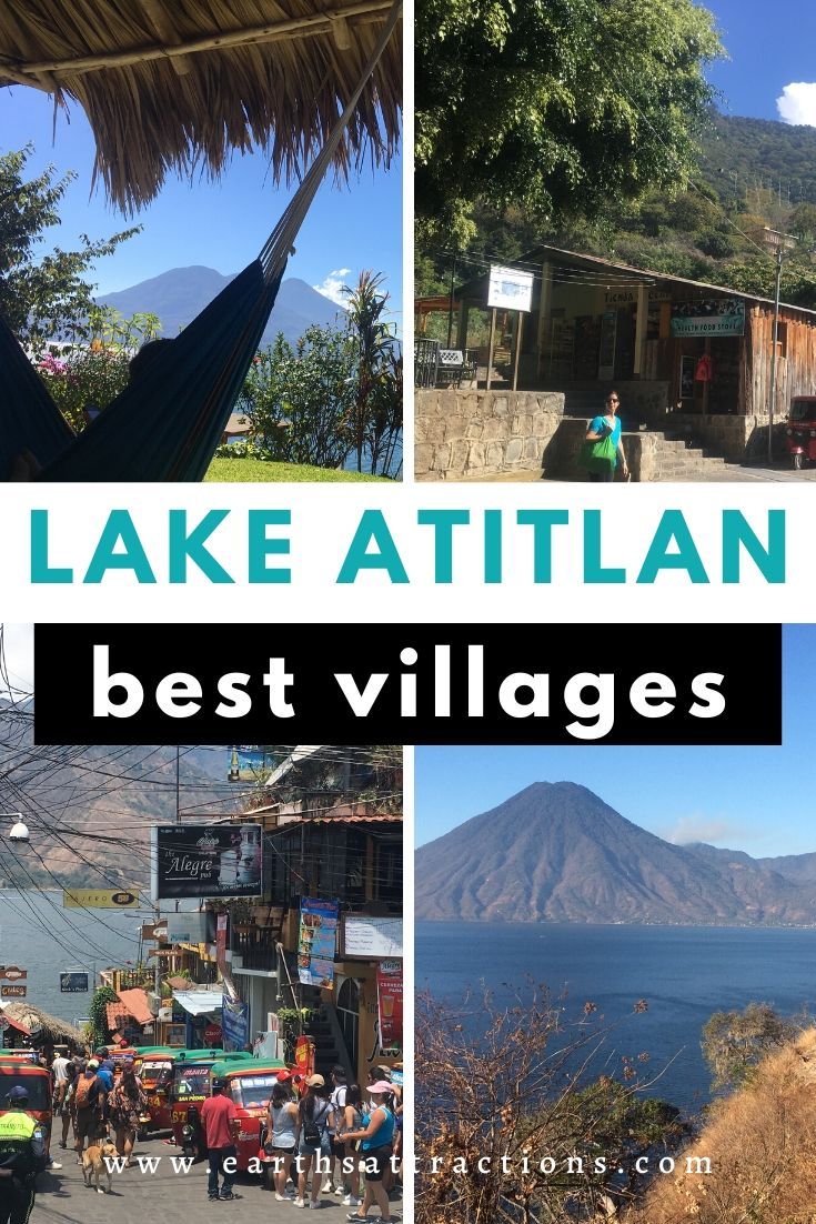 Lake Atitlan Villages guide. Discover the best places to visit in Lake Atitlan Guatemala. Find out the best things to do in one week at Lake Atitlan, Guatemala from this comprehensive Lake Atitlan guide. #lakeatitlan #atitlanguide #atitlanitinerary #atitlanguatemala #earthsattractions #travelguides #america #centralamerica #traveldestinations