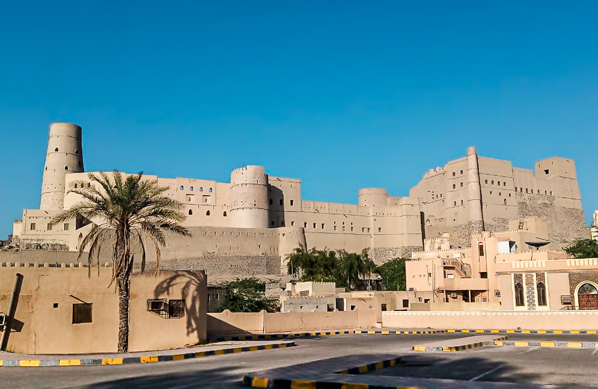 Bahla Fort is one of the best forts in Oman. Make sure you include it on your Oman bucket list