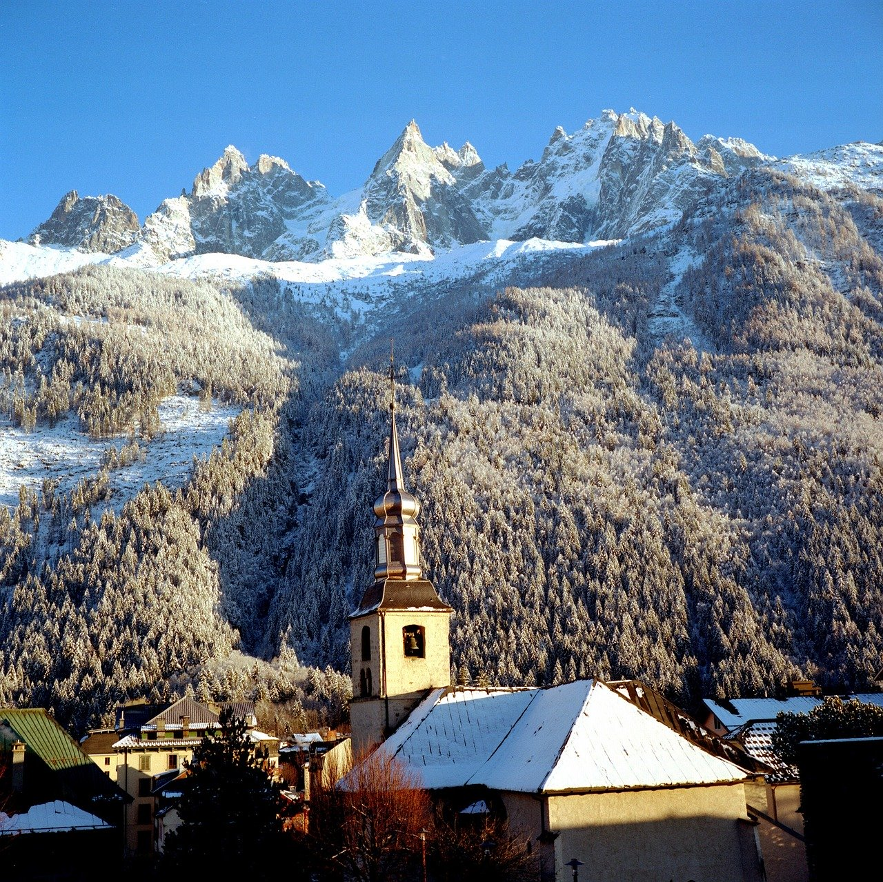 Vallée de Chamonix/Mont Blanc is one of the Highest ski resorts in France