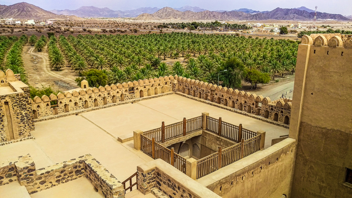 Jabreen Castle is one of the best forts castles in Oman and one of the places to visit on your Oman vacation