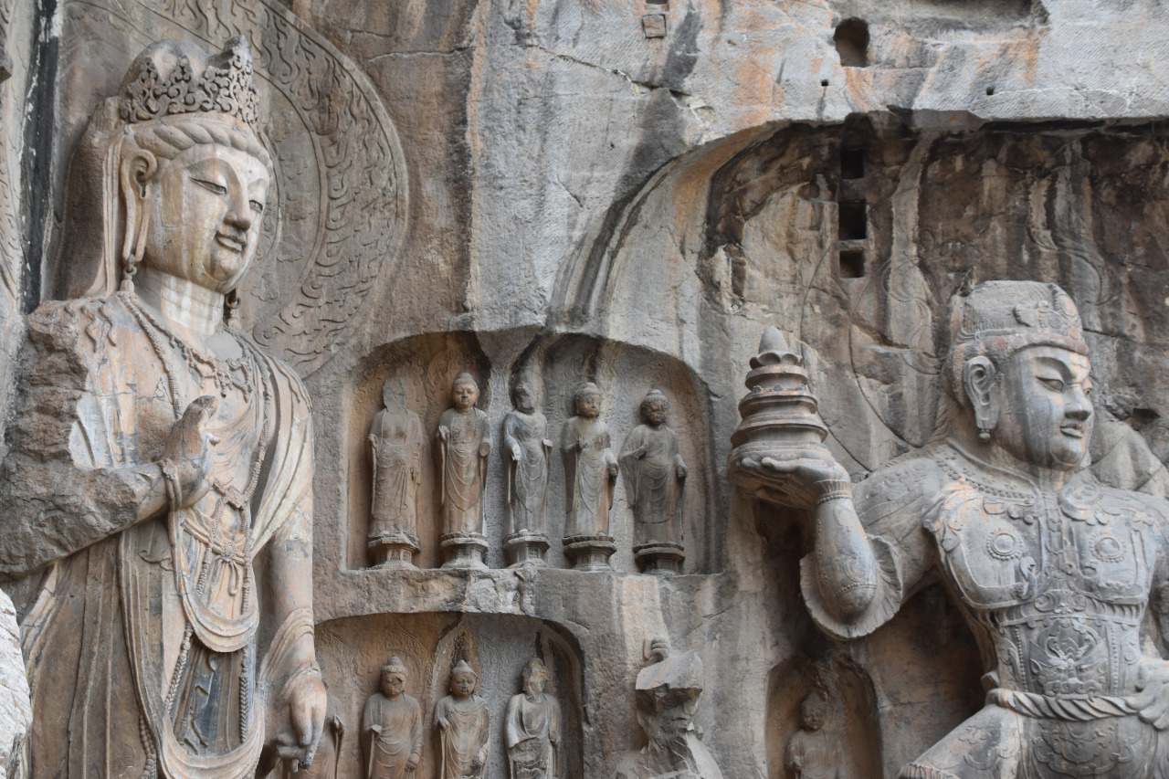 Longmen Grottoes are one of the top Luoyang attractions