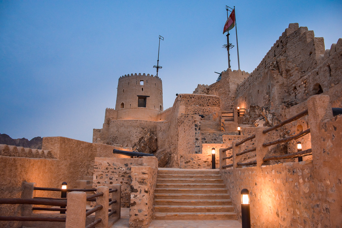 Mutrah Fort is one of the best Oman Forts to include on your Oman itinerary and one of the best places to visit in Oman