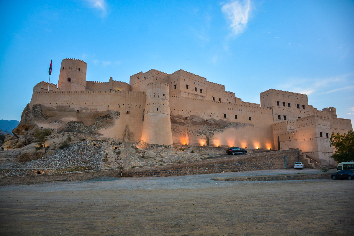Nakhal Fort is one of the most popular forts in Oman and one of the best places to visit in Oman on your Oman holiday