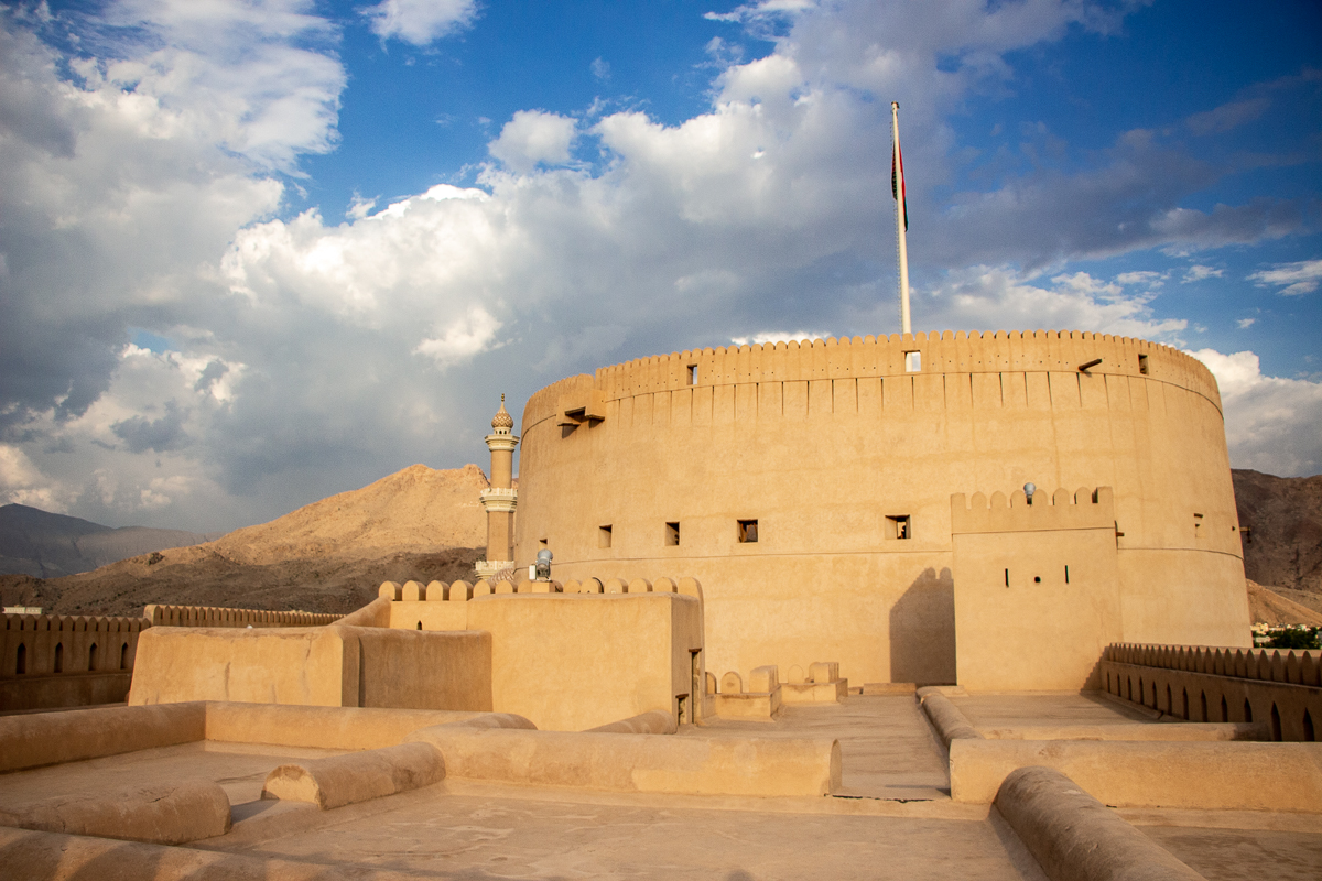Nizwa Fort is the best fort in Oman and one of the most visited Oman tourist spots.