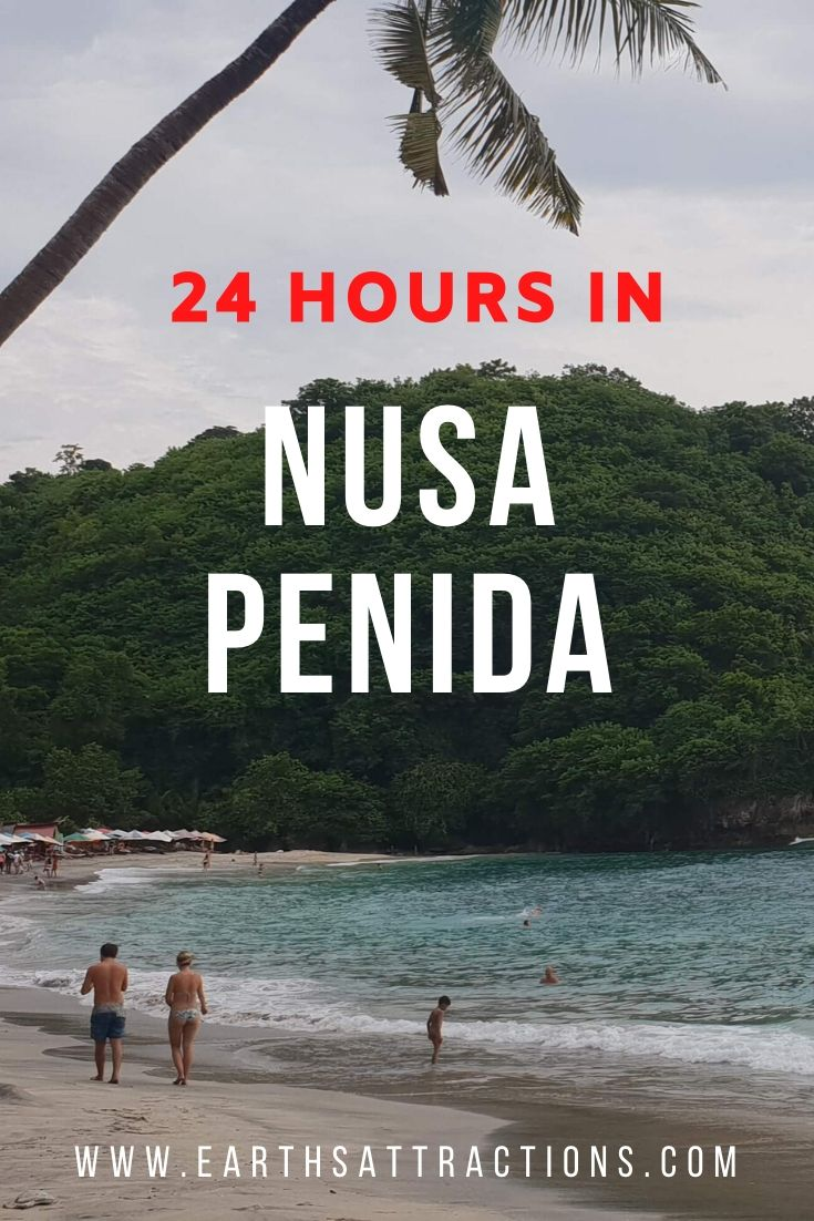24 hours in Nusa Penida, Indonesia. Read this Nusa Penida 1 day itinerary and find out the best things to see and do in Nusa Penida, accommodation in Nusa Penida, the best time to visit Nusa Penida, and more. Create your Nusa Penida bucket list with this article. #nusapenida #nusapenidaitinerary #bali #indonesia #asiatravel #travelguides #travelitinerary #nusapenida1day #earthsattractions
