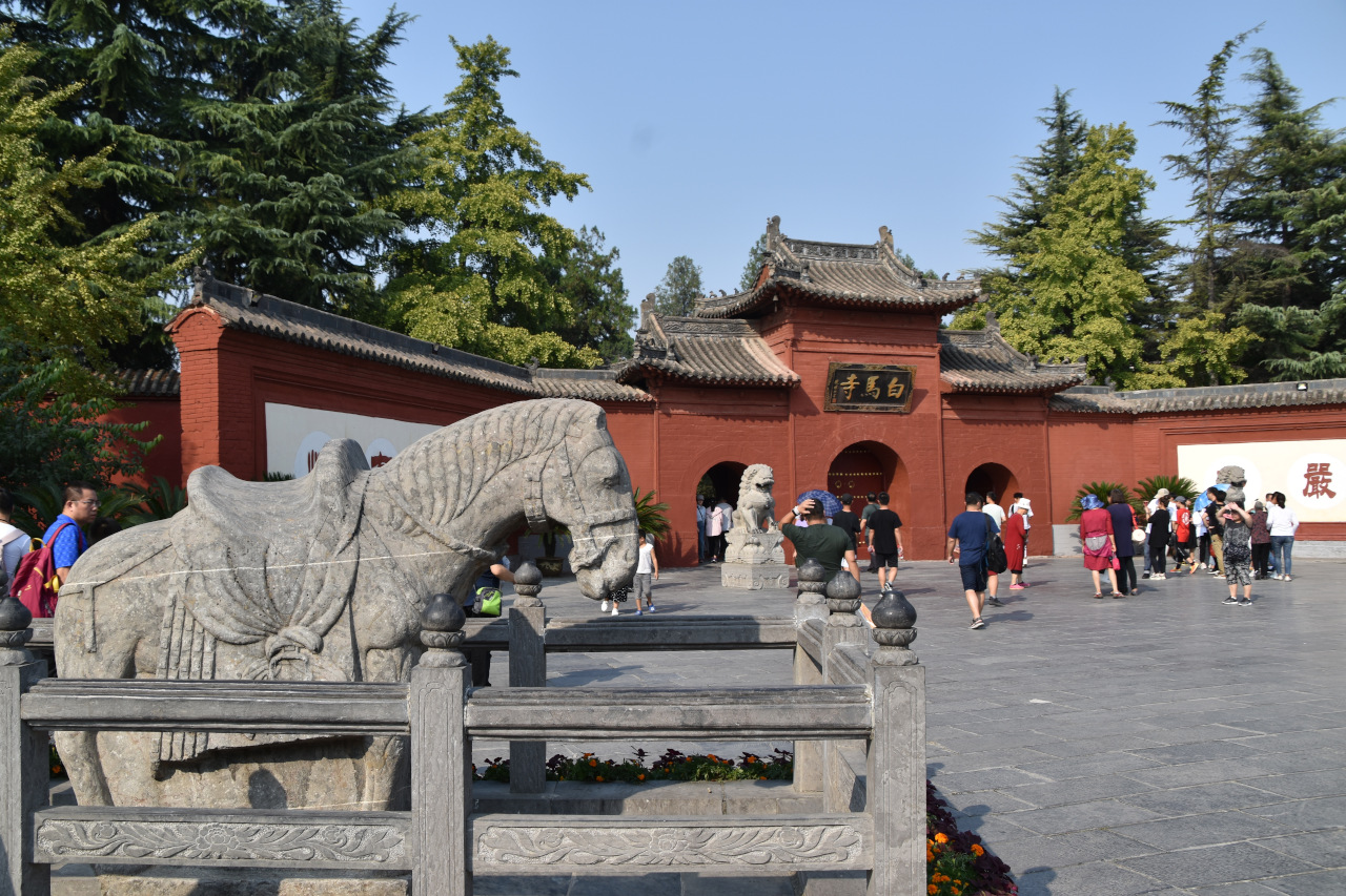 The White Horse Temple is the birthplace of Buddhism in China and one of the best places to visit in Luoyang, China