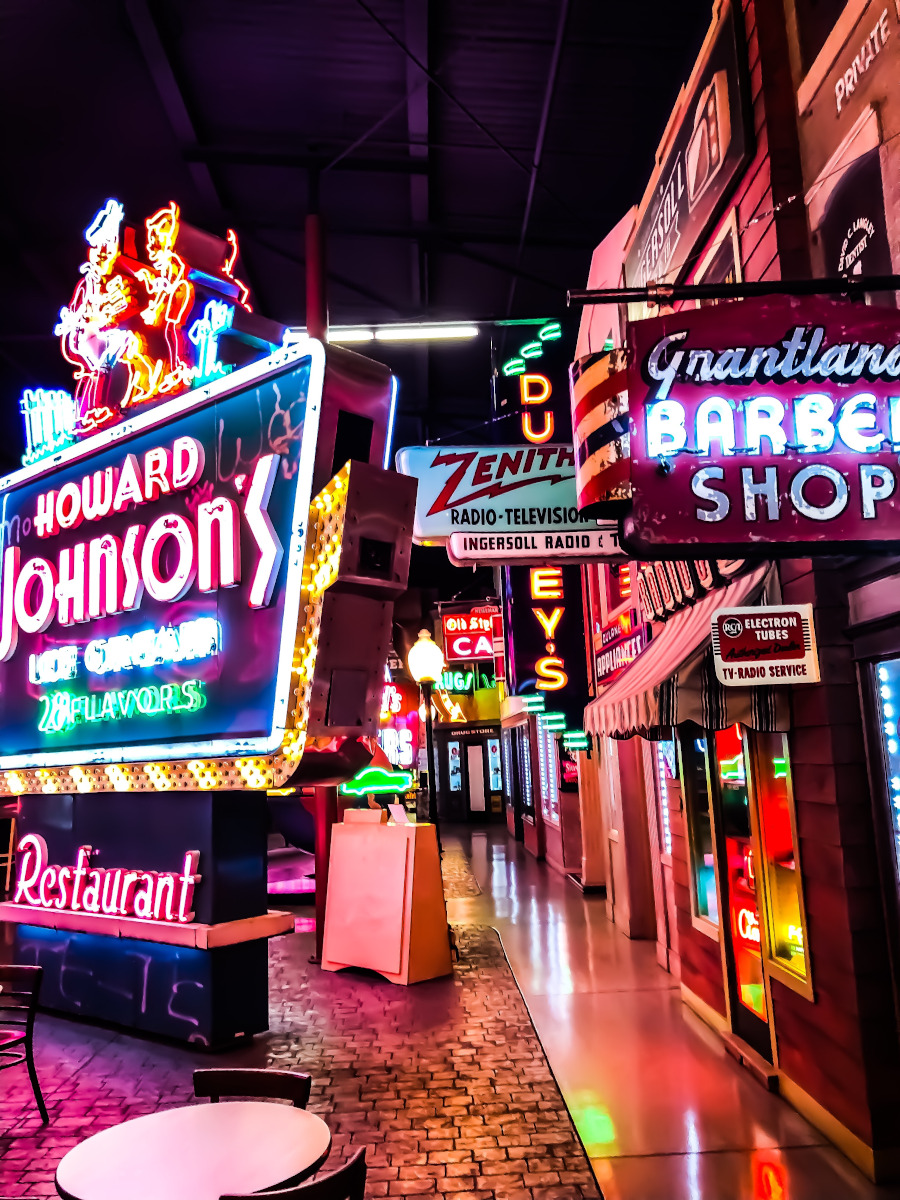 American Sign Museum is one of the top Cincinnati attractions to include on your itinerary for Cincinnati