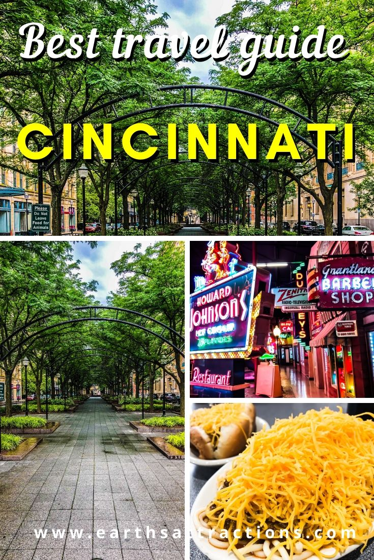 Cincinnati travel guide. Discover the best things to do in Cincinnati - from famous Cincinnati attractions to off the beaten path things to do in Cincinnati, great Cincinnati restaurants, useful tips for visiting Cincinnati, and great Cincinnati hotels. #cincinnati #ohio #cincinnatiguide #cincinnatithingstodo #usa #usatravel #ohiotravel #travelguides #earthsattractions #thingstodo #america