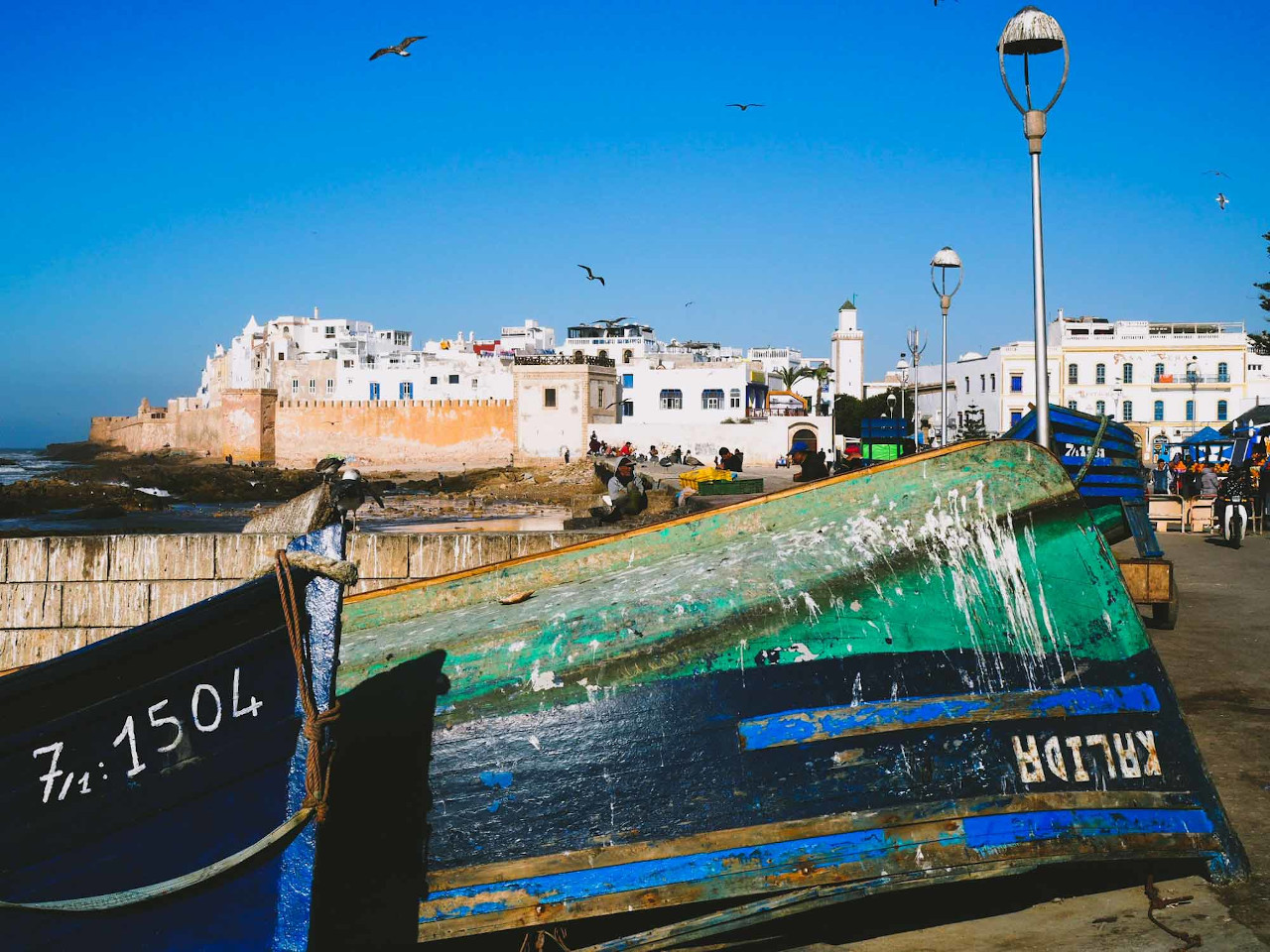Make sure you include visiting Essaouira Old Town on your list of things to do in Morocco