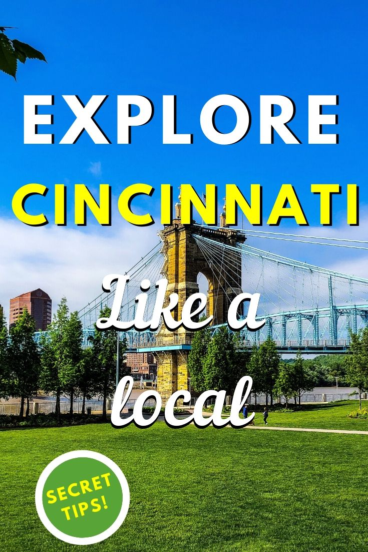 Explore Cincinnati like a local. Discover 25 things to do in Cincinnati on your trip! From fun museums to great Cincinnati parks, from cool Cincinnati restaurants to great hotels in Cincinnati, all is included! #cincinnati #ohio #cincinnatiguide #cincinnatithingstodo #usa #usatravel #ohiotravel #travelguides #earthsattractions #thingstodo #america