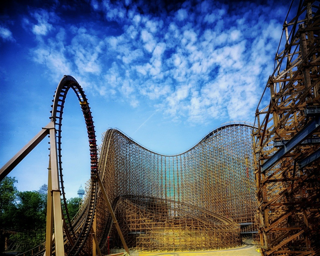 Kings Island is one of the best things to do in Cincinnati, Ohio, USA