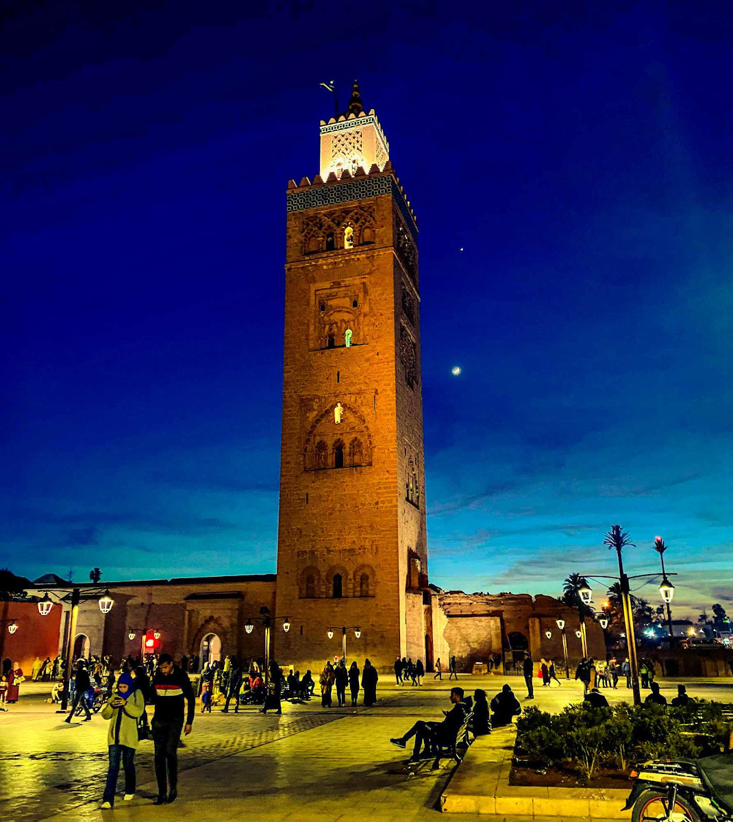See the Marrakesh Koutoubia on your Morocco one week itinerary