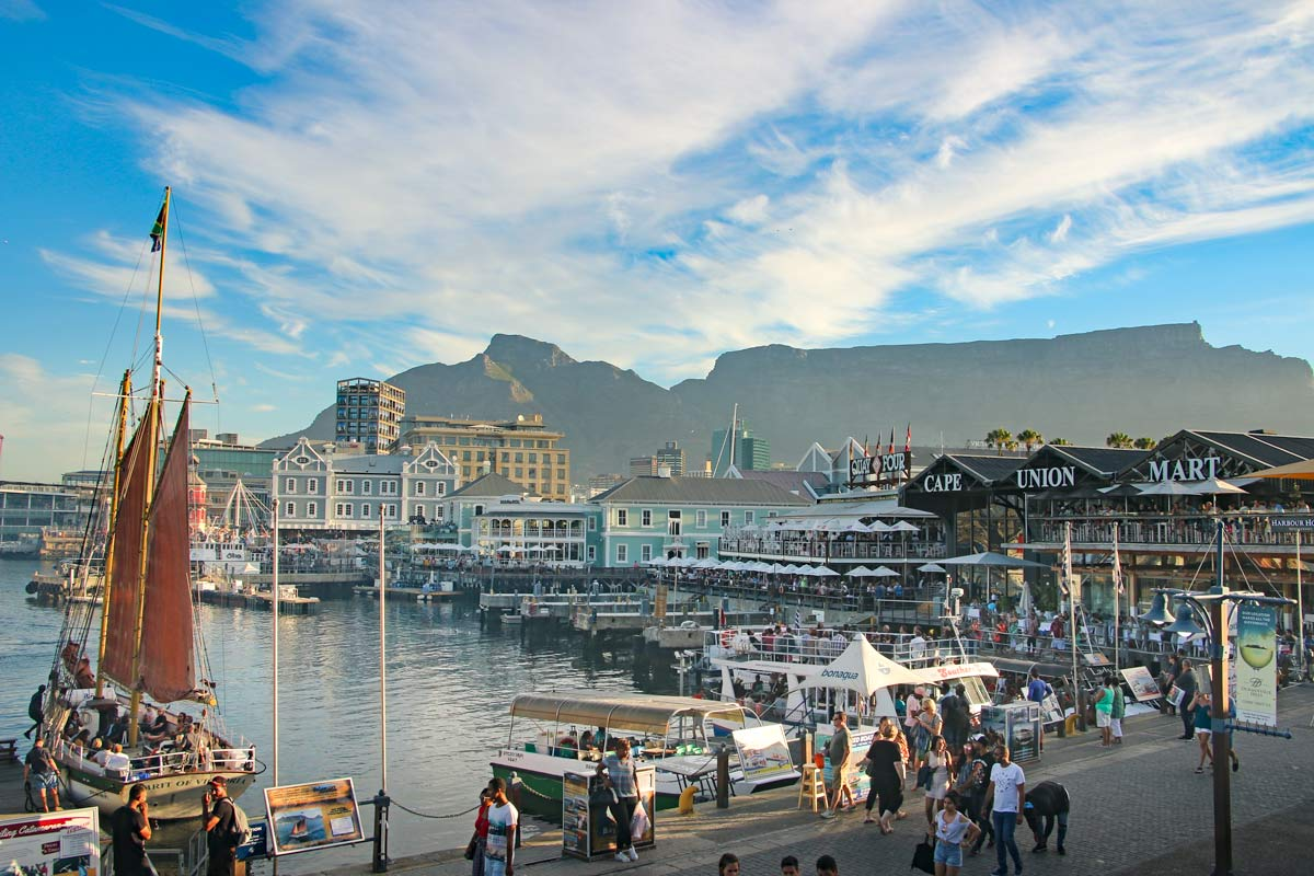 Check out V&A Waterfront on your 2-day Cape Town itineray
