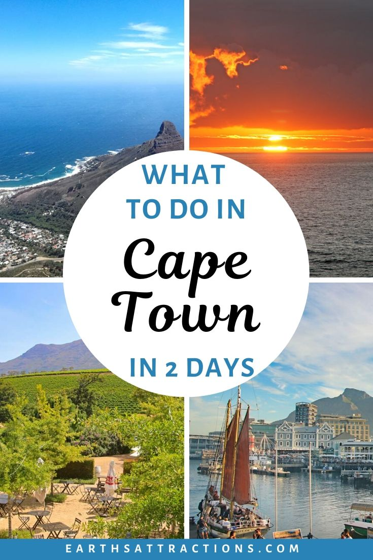 What to do in Cape Town in two days. Discover how to spend 2 days in Cape Town and the best things to do in the city from this local's itinerary for Cape Town featuring the top attractions in Cape Town and many outdoor things to do in Cape Town, South Africa. #capetown #southafrica #capetownitinerary #itinerary #capetowntrip #traveldestinations #earthsattractions #capetownthingstodo