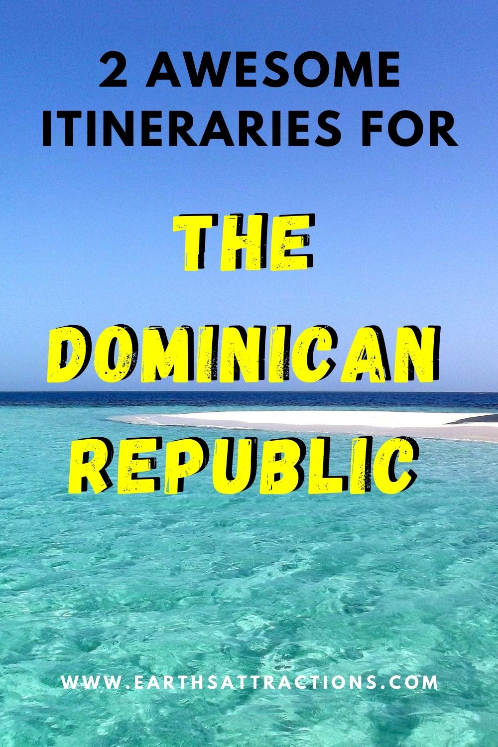 2 Awesome Dominican Republic itineraries – with and without Punta Cana. Discover the best things to do in the Dominican Republic in one week and the top places to visit near Punta Cana in 3 days. #dominicanrepublic #travelitineraries #traveldestinations #dominicanrepublicitinerary #earthsattractions #northamerica